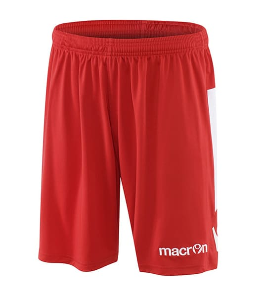 Shorts-Rood-Wit